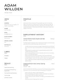 Kitchen Hand Resume Kitchen Hand Resume Writing Guide 12 Free Templates 2019
