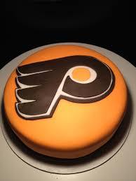 Philadelphia Flyers Bedroom Philadelphia Flyers Cake Sweet Sweet Hockey Pinterest