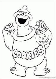 Small Picture Best Cookie Monster Head Coloring Page Ideas Coloring Page