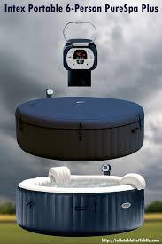 intex 6 person portable hot tub review