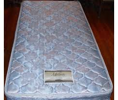60 obo simmons maxipedic twin mattress bed w frame blue0 blue