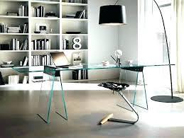 glass top office desk modern. Modern Glass Office Desk Image Of . Top