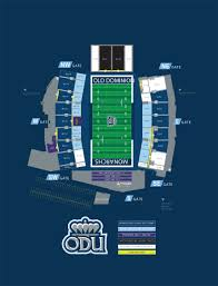 Odu Football Stadium Seating Chart Chartway Arena Seating Chartway Arena Norfolk Virginia