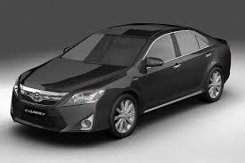 2012 Toyota Camry Hybrid (Asian) 3d Model Vehicles 3d Models ...