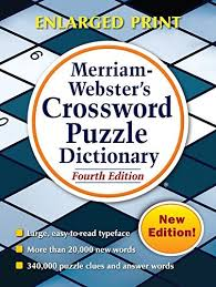 merriam webster s crossword puzzle dictionary fourth edition by merriam webster june 01 2018 amazon books