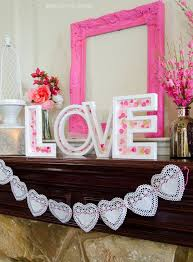 valentine office decorations. diy pink valentine mantel by michaelsmakers love the day diy art projectsvalentine decorationsoffice office decorations n