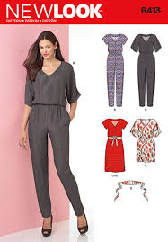 Simplicity Jumpsuit Pattern Cool Simplicity New Look Sewing Pattern Dresses 48 ALISELLOU DESIGNS