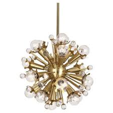robert abbey jonathan adler sputnik antique brass 18 light chandelier