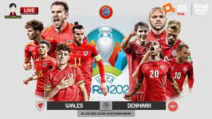 LIVE เชียร์สด : เวลส์ พบ เดนมาร์ค | ยูโร 2020 รอบ 16 ทีมสุดท้าย - YouTube