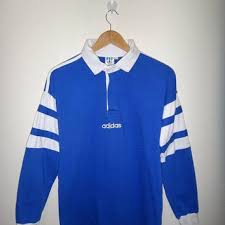 on 25 off rare adidas rugby vintage shirt long sleeve spel