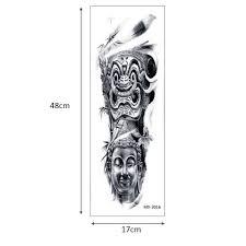 Glaryyears большая рука временная татуировка стикеры довольно цветы имитация тату на