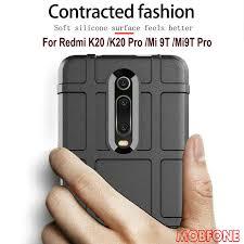 Redmi Note 8 pro 8T 7 7S K20 Case <b>Soft Silicone Rugged</b> Shiled ...