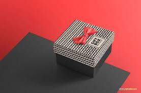 Beautiful Gift Box Design Gift Box Psd Mockup With Beautiful Design Designhooks
