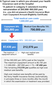 High Cost Medical Care Benefits And The Sony Health