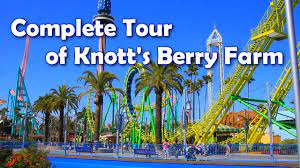 HD] Complete Tour of Knott's Berry Farm ...