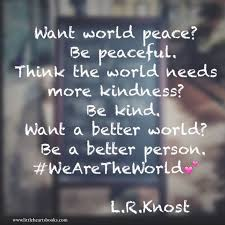World Peace Quotes