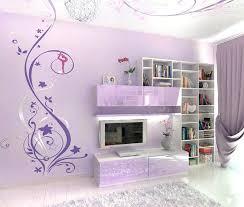 Teen Wall Designs Abstract Murals In Purple Bedroom Design Girls