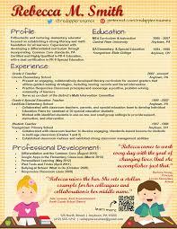 Creative Teacher Resume Templates Free Best of Professional Free Creative Resume Templates For Teachers Creative