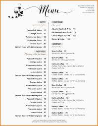 free word menu template 7 free word menu templates marlows jewellers