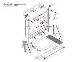 knapheide truck equipment stores schematics page tommy gate railgate series liftgate