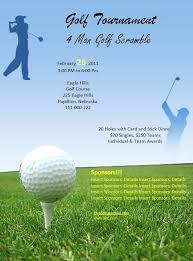 Free Golf Flyer Template Wilkesworks