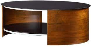 modern oval coffee table with