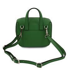 saffiano leather mini bag dalia tl141762 color green