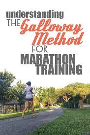 Galloway Method Run Walk Marathon Training Overview