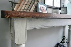 distressed entry table. distressed entry table