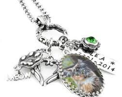 photo pet urn necklace pet ashes urn memorial pet necklace personalized pet photo