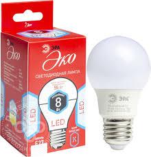 Купить <b>Лампа светодиодная Эра LED</b> SMD A55 E27 8Вт с ...