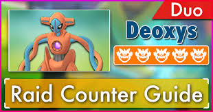 Deoxys Normal Forme Duo Raid Guide Pokemon Go Wiki Gamepress