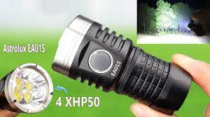 Đèn Pin này Sáng Đến Nỗi Ôtô cũng phải Chào Thua - Test Đèn Pin Siêu Sáng  Astrolux EA01S - YouTube