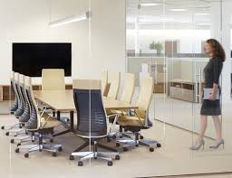 office conference table design. Simple Office Laminate Fronts Conference Room Table Marc Krusin Sliding Door Overhead  Wood Grain Y Base Inside Office Conference Table Design