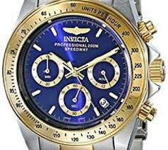 best mens watches deals ➤ compare prices on dealsan com invicta men s speedway chronograph 200m two toned stainless steel watch 3644