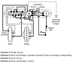 telecaster with a four way switch Schecter Wiring Diagrams EMG HZ H4 Wiring-Diagram