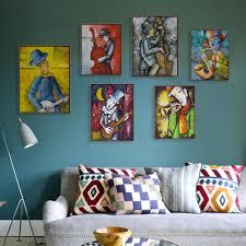 Large Living Room Paintings Popular Guitar Living Room Painting Buy Cheap Guitar Living Room