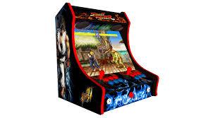 classic bartop arcade machine street fighter art 680 retro games