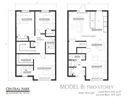 floor plan. Central-park-floor-plans-8-5x11-2 Floor Plan