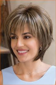 Thin Hair Short Layered Hairstyles Thick Hair Look For Women 2018