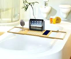bamboo bathtub caddy luxury bamboo bathtub umbra oasis bamboo bath caddy