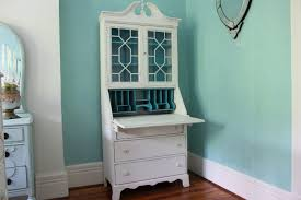 home trendy antique white desk with hutch 24 tall antique white desk with hutch