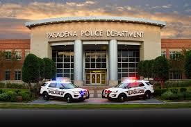 pasadena police department front elevation pasadena police department pasadena tx