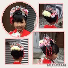 浦和の着付け屋さん 七歳のお祝いは日本髪をおすすめしています