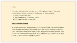 Qualifications Summary Resume Sample Sidemcicek Com