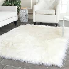 floor beautiful fluffy white area rug 0 fluffy white area rug