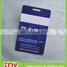 Work Identity Card Plastic Pvc Work Id Card With Punch Of Employee Id Cards From China