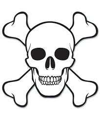Free Printable Skull Coloring Page Coloring Sheets Pirate Party
