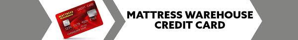 Mattress Warehouse Credit Card
