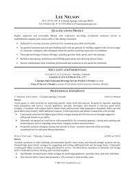 Restaurant Server Resume Sample Monster Regarding Resume Examples
